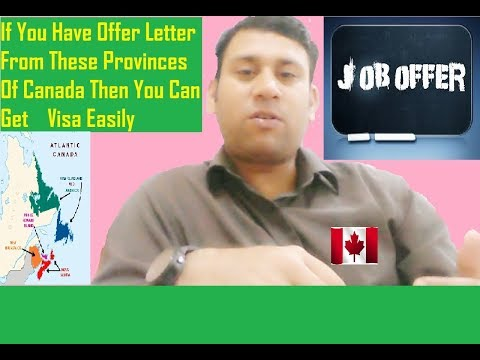 Job Offer | Get Offer Letter From These Provinces Of Canada And Get Visa Easy