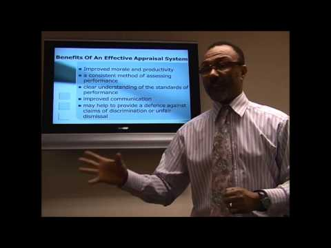 Appraisal Training Video - How to perform a performance appraisal