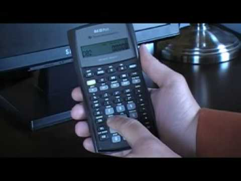 NPV and IRR calculations using the TI BAII Plus calculator