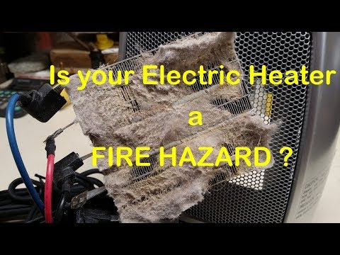 Is your Electric Heater a FIRE HAZARD ?
