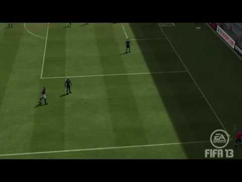 FIFA 13 Pro Clubs - Scoring From a Corner
