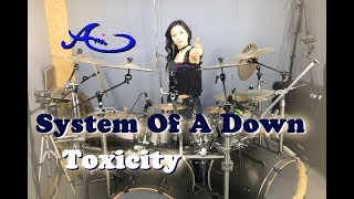 AC/DC - Highway to Hell drum cover by Ami Kim (#39)