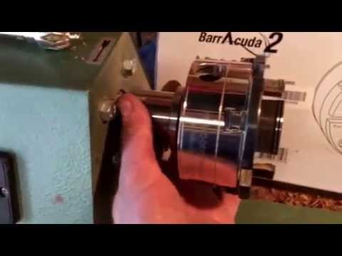 Barracuda 2 wood lathe chuck csc3000c review by Mr Tims. From PSI Woodworking. Harbor freight lathe