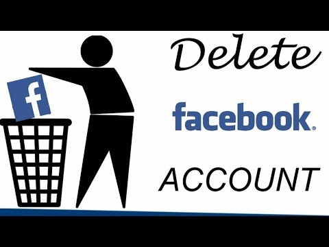 how to delete facebook account permanently without password and email