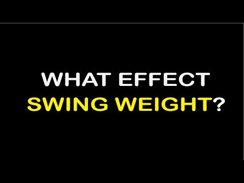 What will effect golf club swing weight