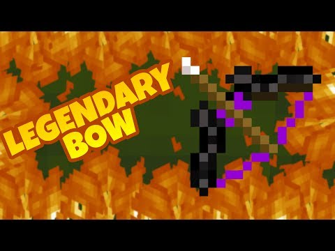 How to make a Legendary Bow in Minecraft PE