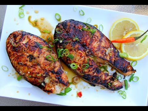 The Ultimate Grilled Salmon #JulyMonthOfGrilling | CaribbeanPot.com