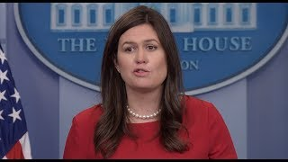 WATCH: Press Secretary Sarah Huckabee Sanders White House Press Briefing 11/17/17