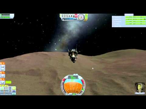 Kerbal Space Program (0.23) - Complete Stock Career Mode Run-Through 011