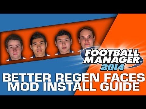 Better Regen Faces Mod Installation Guide - Football Manager 2014