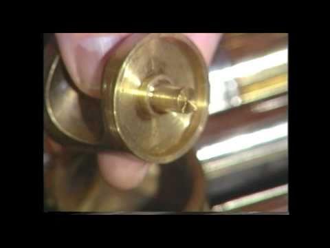 Tuba Repair #14  Rotary Valve Reassembly - Jeff Funderburk