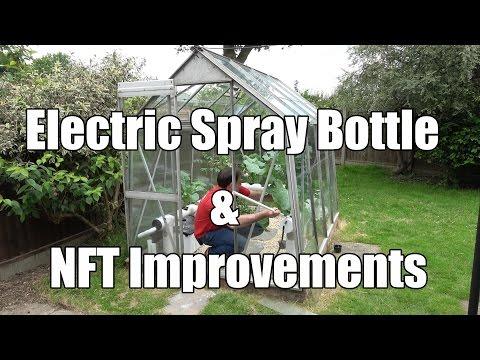 Electric Spray Bottle & NFT Improvements