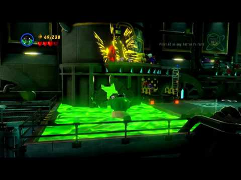 LEGO MARVEL Super Heroes - Hulk Can Cross Toxic Waste (60 FPS) (1080p)