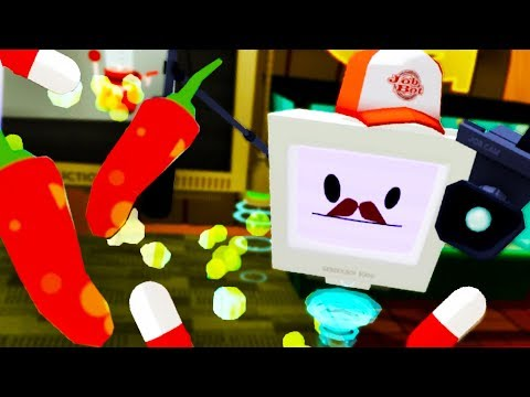 WHAT HAVE I DONE!?! TAKING MYSTERY PILLS TO GET ON TV!!! (Job Simulator VR HTC Vive)