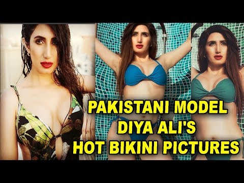 Pakistani Model Diya Ali's Hot Bikini Pictures are breaking the internet, check them out