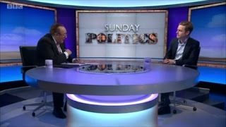 Andrew Neil savages pro-remain lobbyist lying about Brexit