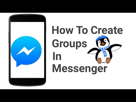 How to Create groups in messenger?? In Urdu