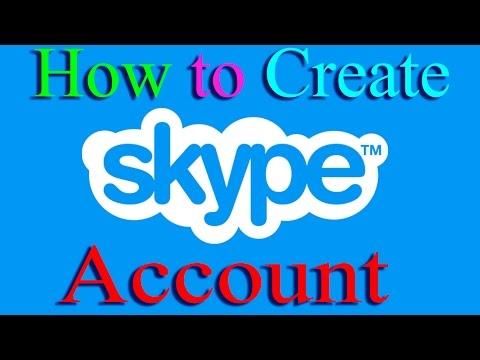 How to Create a Skype Account 2015