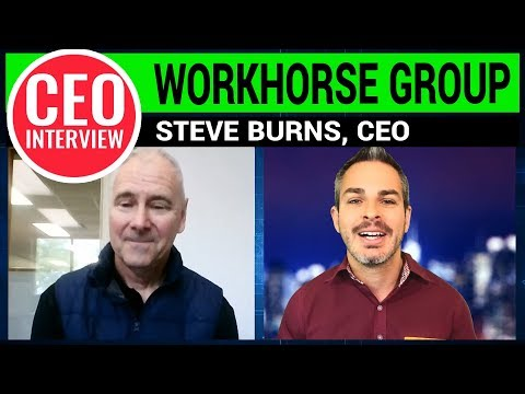 Electric Pickup Truck? Workhorse CEO Explains!