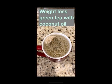 🍵 Green tea with coconut oil -Introspective Concepts