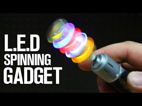 Incredible Idea with DC Motor and Leds