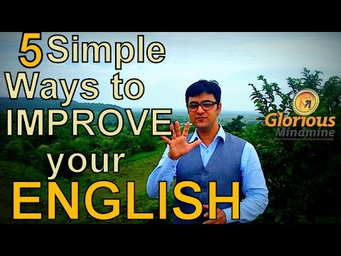 5 Simple Ways to Improve Your English Speaking