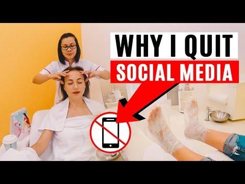 Why I Quit Social Media. Digital Detox. Beauty Salon in Dubai.