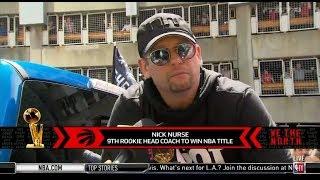 Nick Nurse (TOR HC) share delight to fans on The Raptors Championship PARADE | Live on Toronto