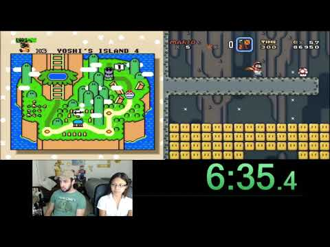 AGDQ 2018 Submission -- SMW 11 Exit Race: Code Injection vs Cloud