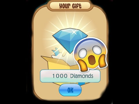 Animal jam 1000 DIAMOND CODE!!! (still works 2016)