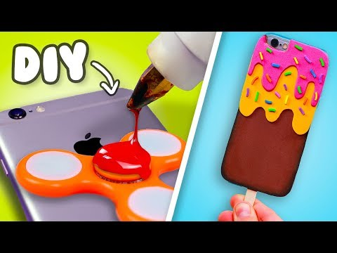 3 DIY Phone Case you NEED to try! DIY Phone Cases