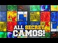 HOW TO GET ALL SECRET EXTRA CAMOS IN BLACK OPS 3 Black Ops 3 ALL RARE EXTRA CAMOS Unlocked