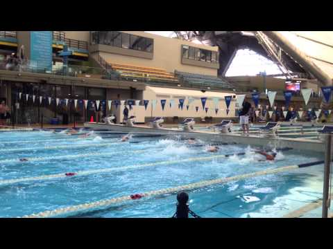 Calgary Masters Swim Meet 2015 Lisa Brown 50 Free