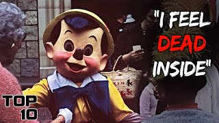 Top 10 Scary Things Told By Disney Employees - Part 7