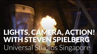 Lights, Camera, Action with Steven Spielberg - Universal Studios Singapore