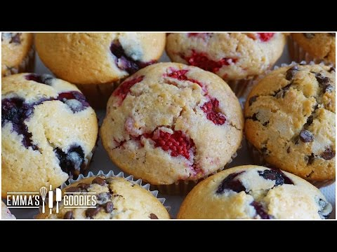 Muffin Recipe - Create Different Flavors Using 1 Recipe