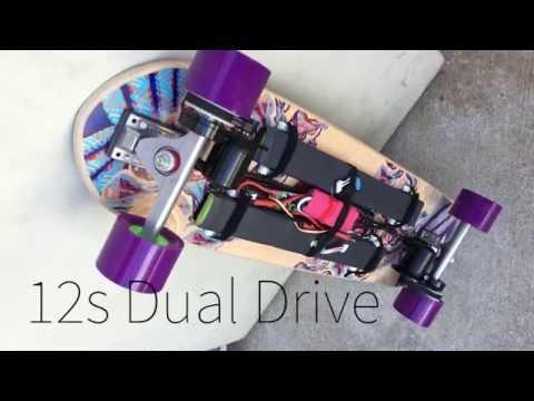 Burnout & Strawberries : DIY MOTORIZED SKATEBOARD pt.1