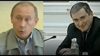 Putin judo chops oligarchs - Khodorkovsky & Deripaska
