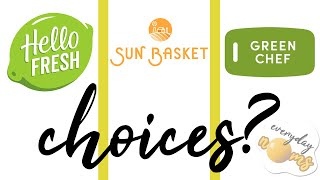 2021 Review: Hello Fresh vs Sun Basket vs Green Chef! *Not Sponsored*    Everyday Noms