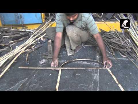 Bambo Stick Chairs Making- Business Video(Telugu)