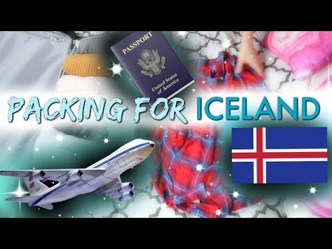 Pack With Me For ICELAND!