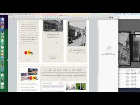 Tutorial: Making a Brochure with Apple Pages