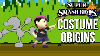 Super Smash Bros. Costume Origins - Retro Characters – Aaronitmar