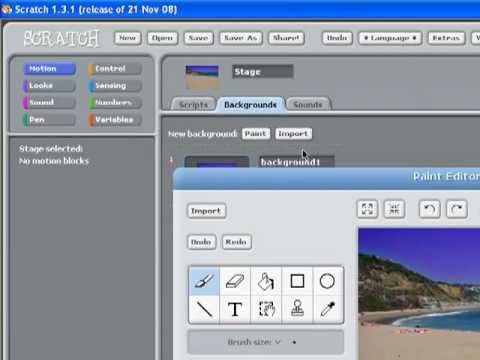 How to make a game on Scratch