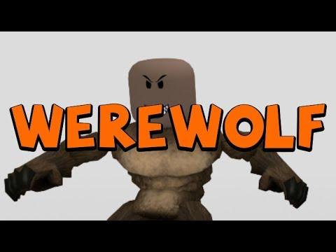 Werewolf animation pack ROBLOX
