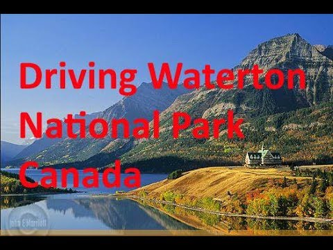 Driving Calgary to Waterton National Park