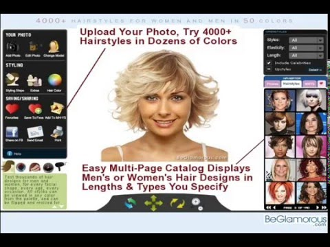 Try On Virtual Hairstyles - Upload Your Photo / Change Hair Color - Online Generator