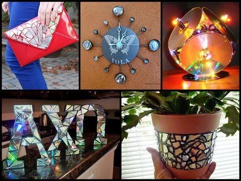 Best DIY Recycling CDs Ideas - Recycled Home Decor