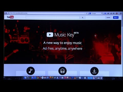 YouTube Music Key