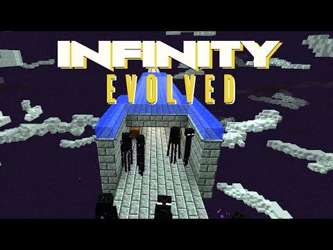 Minecraft Mods FTB Infinity Evolved - ENDERMAN FARM [E12] (Modded Expert Mode)